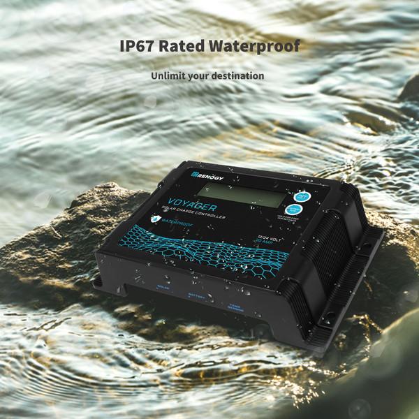 Waterproof display