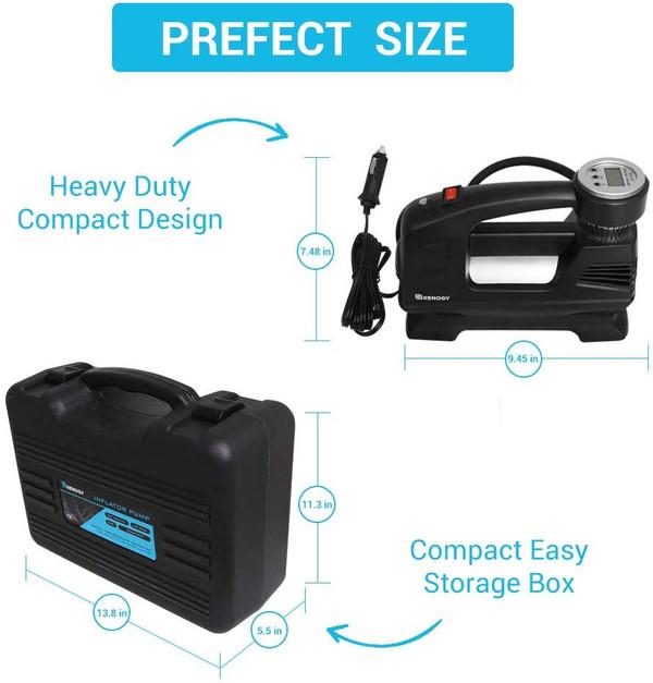 Renogy 12V Auto Digital Tire Inflator