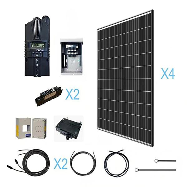 1200 Watt 12 Volt Monocrystalline Solar Kit   Renogy Solar