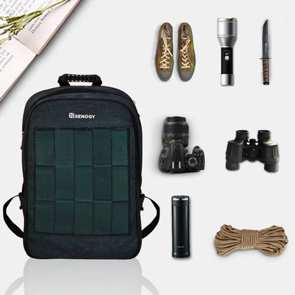 Trade in Your Daypack for This Solar Backpack