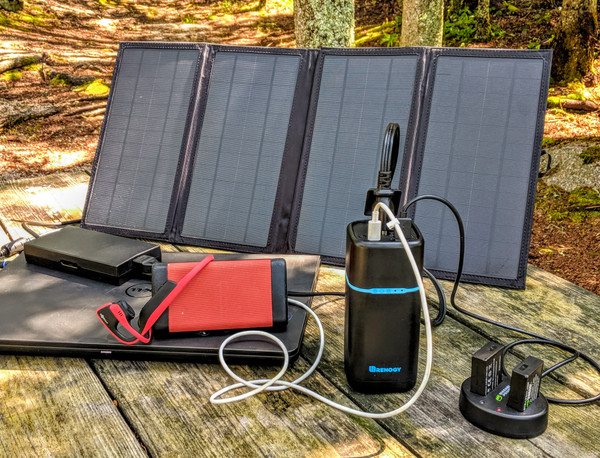 Go Solar Car Camping & Leave the Gas Generator at Home