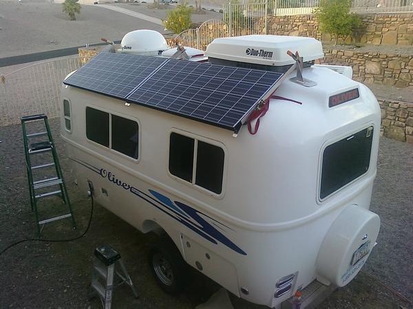 Best Winter Destinations for Solar RVs