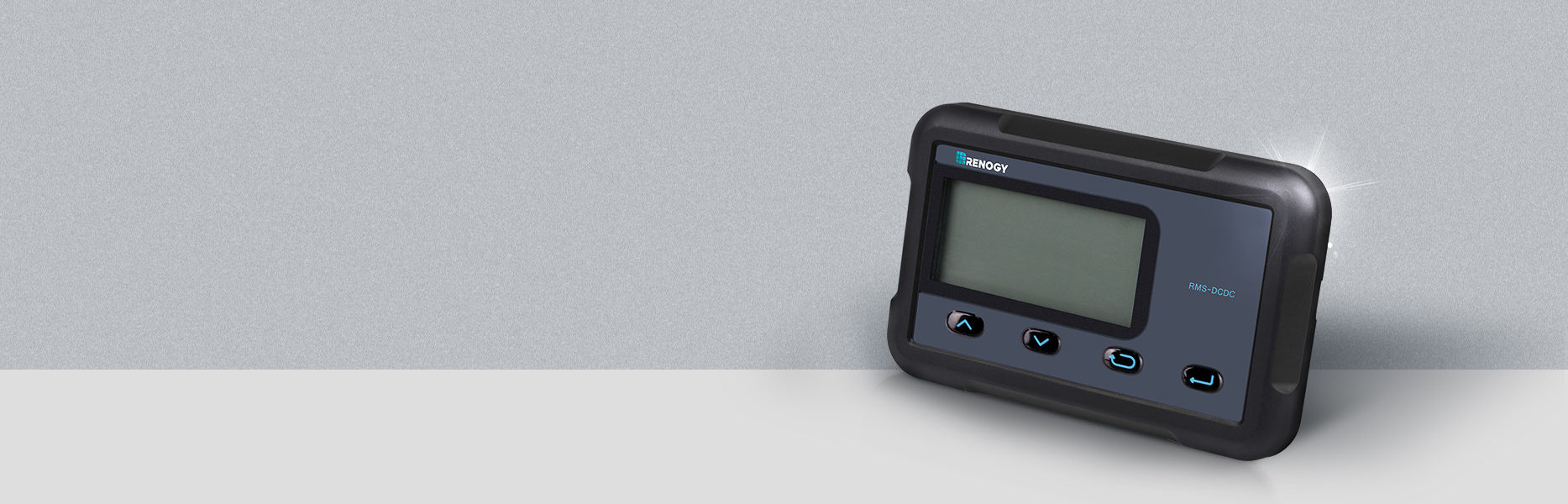 Monitor Screen for DC-DC MPPT Battery Charger Series