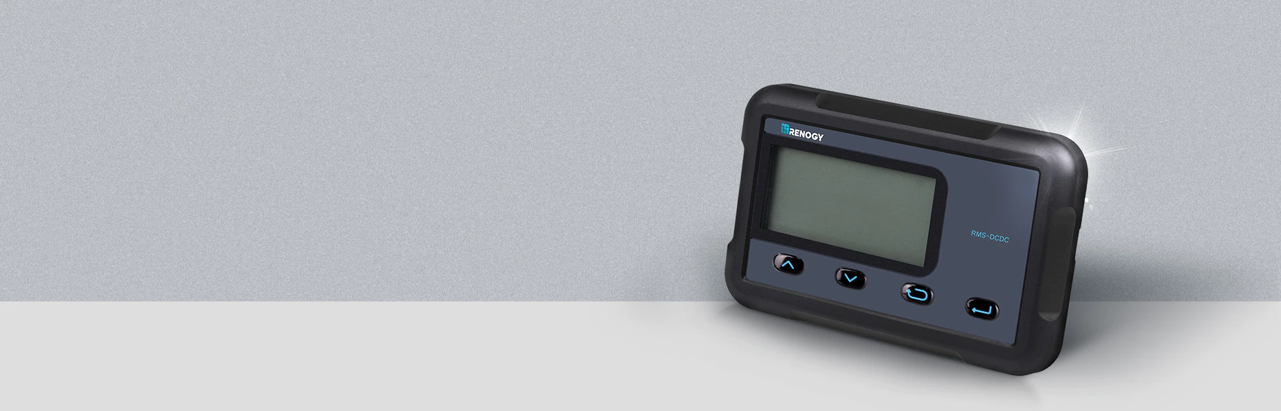 Monitoring Screen for DC-DC MPPT Battery Charger Series