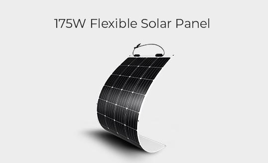175W Flexible Solar Panel