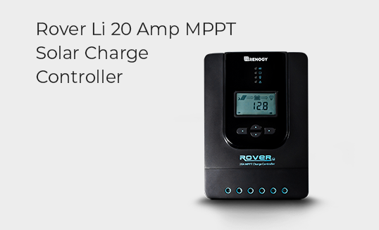 Rover Li 20 Amp MPPT Solar Charger Controller