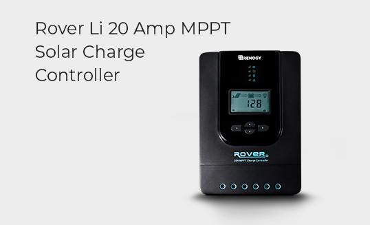 Rover Li 20 Amp MPPT Solar Charger Controller