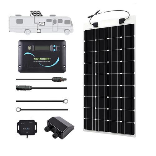 Renogy 50 Watt Solar Panel 50W 12V Off Grid PV Power Marine ...