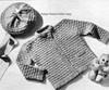 Nubby Crochet Baby Set Pattern