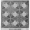 Filet Crochet Rose Tablecloth pattern