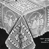 Fruit Filet Crochet Tablecloth Pattern