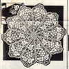 Grape Filet Crochet Doily Mail Order Pattern 2086