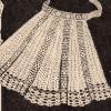 Workbasket Filet Crochet Apron Pattern