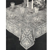 Shadow Filet Crochet Tablecloth Pattern, Iris Blocks