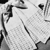 Vintage Knit Baby Sacque Pattern, Long Sleeves