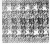 Pixie Hat Knitted pattern stitch
