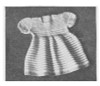 Vintage Baby Knitted Dress Pattern