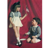 Childs Knitted Suspender Skirt Shorts Pattern from Columbia Minerva