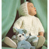 Baby Hooded Jacket Knitting Pattern from Columbia Minerva