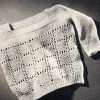 Easy Infant Sweater Knitting pattern