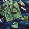 Vintage Baby Jacket Booties Knitting Pattern
