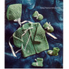 Easy Knitted Baby Set Pattern from American Thread