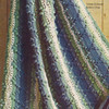 Crochet hairpin lace vintage afghan pattern