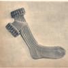 Knitting Pattern for Girls Socks