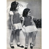 Girls Sleeveless Knitted Pullover Pattern