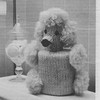 Vintage Poodle Knitted Tissue Cover Pattern