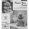 Vintage Knit Crochet Poodle Tissue Covers