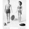 Barbie Ken Doll Knitted Swimsuits