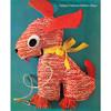 Knitting Pattern Stuffed Dog Sitting