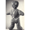 Knitting Pattern Free Gingerbread Man Toy