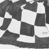 Large Block Crochet Checkerboard Pattern