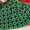 Siesta Green Crochet Afghan pattern