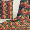 Overleaf Crochet Ripple Afghan & Pillow Pattern