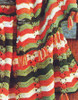 Crochet Knitting Worsted Stripe Afghan Pattern