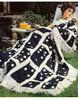 Crochet Afghan Pattern, Domino Motif