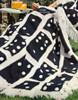 Vintage Domino Crochet Afghan Pattern