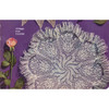 Knitted Whirlpool Doily pattern is 16 inches
