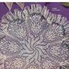 Knitted Doily Pattern, Ruffled Pinwheel Motif