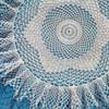 Ruffled Rock Pool Crocheted Doily Pattern