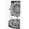 Raised Rose Crochet Doily pattern Design 7237