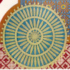 Crochet Empire Doily Pattern in Two Colors