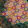 Colorful Crochet Medallion Doily Pattern