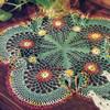 Scalloped Flower Crochet Doily Pattern