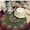 Vintage Wild Rose Crochet Doily Pattern