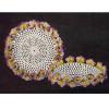 Crocheted Pansy Bowl Pattern