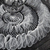 Crochet Pattern, Double Ruffled Doily named Party Frills
